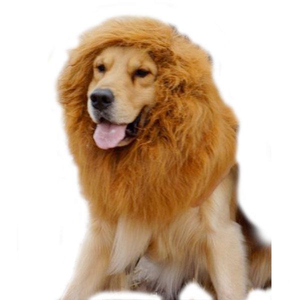 大型 犬 用 ライオン たてがみ ウィッグ ハロウィン コスプレ パーティー イベント ゴールデンレトリバー ラブラドール・レトリーバー 年賀状 戌年