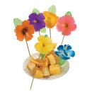 カクテルピックハイビスカスピックトロピカルドリンク飾り楊枝花144本飲み物デザートおしゃれ華やか