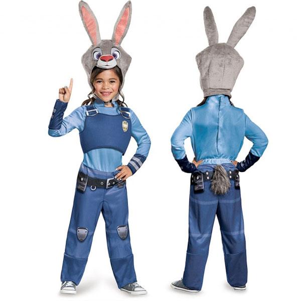 ズートピア ジュディ コスプレ 衣装 幼児 子供 コスチューム ハロウィン イベント パーティー ウサギ