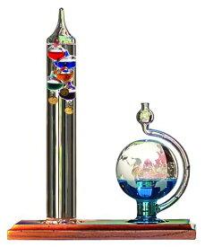 入学祝い プレゼント 卒業 新生活 サイエンストイ 科学 ガリレオ 温度計とガラスの気圧計セット ハロウィン