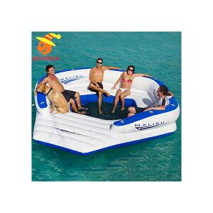 10人用 大型 おもしろい 浮き輪 うきわ 複数 家族 友達 グループ ペア 大きい ボート フロート パーティ グッズ マリブラウンジ インスタ