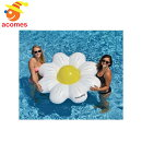 浮き輪フロート浮き具ジャンボ巨大大きいデイジー花ビーチボールリングセットユニーク目立つおもしろいプール海水遊び水あそび海水浴