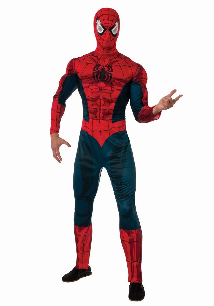 スパイダーマン コスプレ コスチューム 大人用 デラックス版 アメコミ ヒーロー 衣装 スーツ 仮装 グッズ