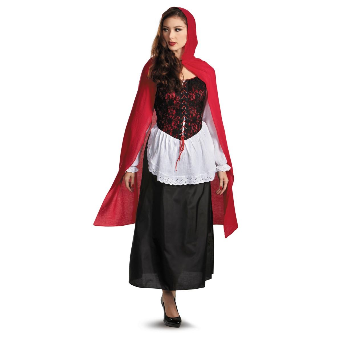 赤ずきん コスプレ コスチューム 衣装 大人 女性用 レディース ハロウィン 仮装 服 あす楽