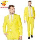 派手 スーツ 衣装 イエロー 黄色 大人用 コスチューム オッポスーツ OppoSuits フェロー パーティー 出し物 芸人 舞台…