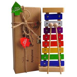 木琴 鉄琴 ビブラフォン 幼児 子供 楽器 おもちゃ カラフル クリスマス ギフト プレゼント