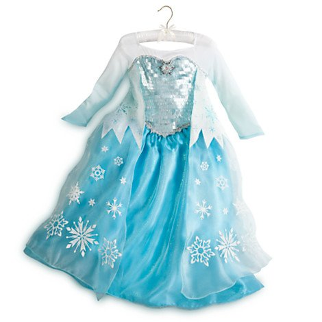 ディズニー コスチューム 子供 ハロウィン エルサ ドレス 衣装 アナと雪の女王 コスプレ 仮装 プリンセス キッズ ガールズ