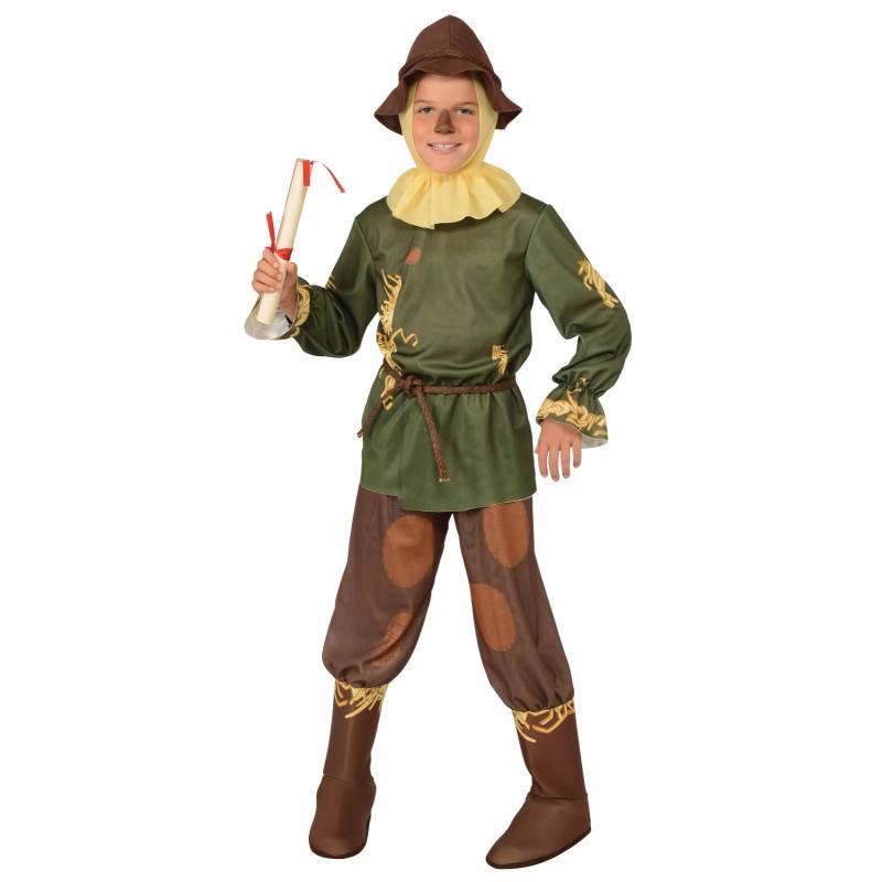 オズの魔法使い かかし 衣装 キッズ 子供用 ハロウィン 衣装 コスチューム あす楽