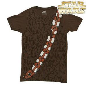 スターウォーズグッズコスプレTシャツチューバッカ半袖Tシャツ大人用ブラウン