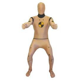 全身タイツ クラッシュテスト 事故 ダミー人形 大人 コスチューム ハロウィン コスプレ パーティー おもしろい シュール 衣装