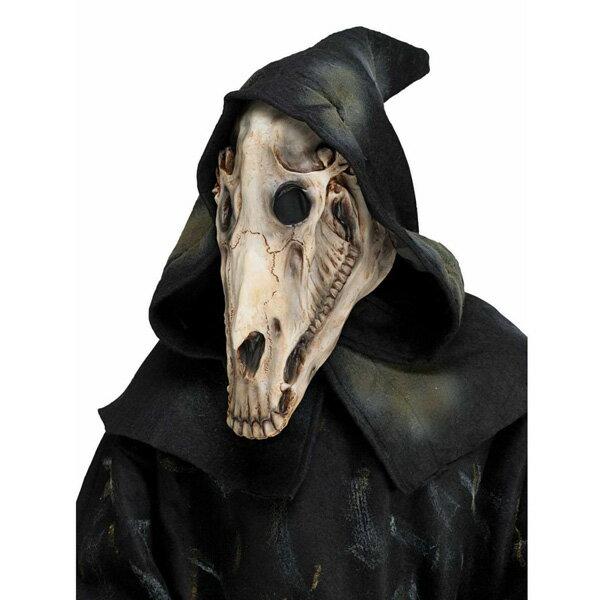 馬 骸骨 マスク コスプレ 仮装 ハロウィン ホース スカル 仮装 あす楽