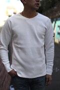 SMARTSPICE(スマートスパイス)SOLIDTHERMALV-NECKTEE(ソリッドサーマルVネックTシャツ)【ソリッドカラーサーマルロングTシャツ】メンズサーマル男女兼用大きなサイズあり【2017年秋冬新作】