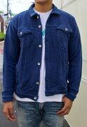 SMARTSPICE(スマートスパイス)INDIGOSWEATJACKET(インディゴ染めスウェットジャケット)過去最厚14.5oz生地ヴィンテージジャケットデザイン男女兼用大きなサイズあり送料無料