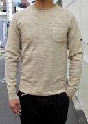 SMARTSPICEスマートスパイスPIGMENTDYEDSLUBCREWL/STEE【極厚な10番単糸のスラブ生地頑丈ロングTシャツ】丈夫メンズロングTEEレディースTシャツユニセックス大きなサイズあり2018年秋冬新色PALEMOCHA送料無料