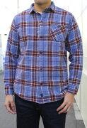 SMARTSPICE(スマートスパイス)VINTAGEFLANNELWORKSHIRTS(ヴィンテージフランネルシャツ)ジャストサイズで着れる頑丈ネルシャツ【YELLOW送料無料】新作ネルシャツ