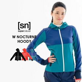 【[sn]super.natural/エスエヌ/スーパーナチュラル】W NOCTURNE HOODY SNW004330【sn1511】【SALE品】【返品交換対象外】