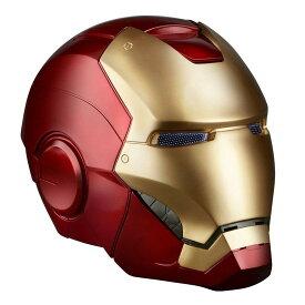 ハズブロ レプリカ マーベル・コミック レジェンド アイアンマン ヘルメット エレクトロニック 高さ約30センチ プラスチック製 塗装済み完成品レプリカ marvel iron man helmet 公式 ハロウィン コスプレ B7435 仮装 コスチューム ironman mask マスク