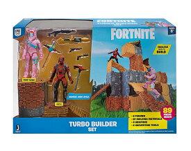 Fortnite フォートナイト リアルアクションフィギュア ターボビルディングセット002 ウサちゃんレイダー&ヴァーテックスTurbo Builder Set 2 Figure Pack, Rabbit Raider & Vertex