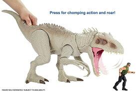 ジュラシック・ワールド スーパーアクション インドミナス・レックス マテル製 Mattel Jurassic World Indominus Rex / 映画 ジュラシックワールド 炎の王国 インドミナスレックス / スーパービッグ! T-rex ティラノサウルス FMM63 と大人気 / 音声 サウンドあり GCT95