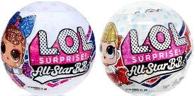 【L.O.L. Surprise!】 LOL サプライズ オールスタ- B.B. シリーズ 2 /lolスポーツシリーズ チアリーダー/ All-Star B.B.s Sports Series 2 Cheer/lolサプライズ おもちゃ 女の子 プレゼント 着せ替え人形 オールスターBB チア