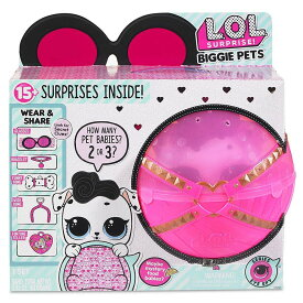 L.O.L. サプライズ! ビギー ペットダルメシアン LOL Surprise Doll Biggie pets Dollmation [並行輸入品]