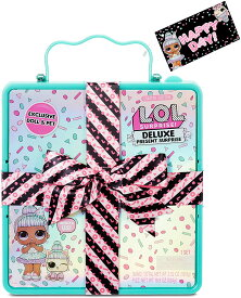 L.O.L. Surprise! Delux Present Sprinkles Doll & Pet 限定版 LOLサプライズ デラックスプレゼント おもちゃ 女の子用人形 lolサプライズ / Deluxe Present Teal / デラックス プレゼント 水色 青緑色 グリーン ティールカラー/ present surprise プレゼントサプライズ