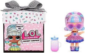 【L.O.L. Surprise! 】 LOL サプライズ プレゼントサプライズ シリーズ1 /プレゼント サプライズ ドール 8サプライズ Present Surprise Doll with 8 Surprises lolサプライズ おもちゃ 人形 プレゼント 女の子用 / 誕生月のテーマドール