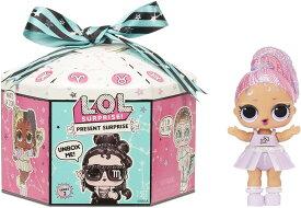 【L.O.L. Surprise! 】 LOL サプライズ プレゼント サプライズ シリーズ2 /Present Surprise Series 2 Glitter Shimmer Star Sign Themed doll with 8 Surprises /lolサプライズ /おもちゃ/人形/女の子用 12星座のテーマ / 新キャラ