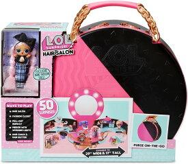 【L.O.L. Surprise】LOL サプライズ! ヘアサロン プレイセット 限定 JK ミニドール付 / Hair Salon Playset with 50 Surprises and exclusive JK mini Fashion Doll /おもちゃ/プレゼント/着せ替え人形/lolサプライズ/LOLセット/ファッション 571322E7C ヘアーサロン
