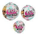 【3個セット】L.O.L. サプライズ! ウインターディスコ 日本未発売3点セット グリッターグローブ フラッフィペット Lil…