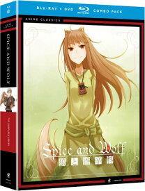 狼と香辛料ブルーレイ + DVD 1期+2期 北米版 全13話+全13話収録