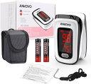 最新版 日本語説明書, 電池付 / 血中酸素飽和度測定器 / 血中酸素濃度測定器 / ポータブル portable 携帯用/日常用/…
