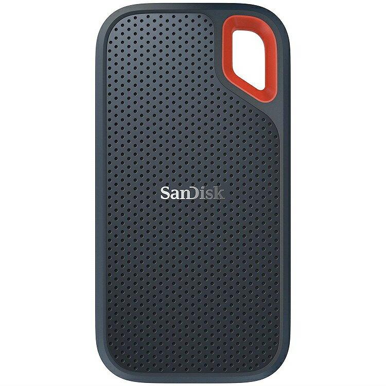 SanDisk 外付SSD 1TB エクストリーム ポータブル 読出し速度 最大550MB/秒 USB3.1 Gen2対応 データ復旧ソフト付 SDSSDE60-1T00-G25