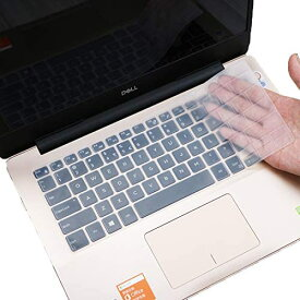 「WASHODO」DELL キーボードカバー ノートパソコンlnspiron 13 5000 7000シリーズ、inspiron 14 5000 7000シリーズ 13,14インチノートパソコン用 保護カバー 防塵防水 570-0045