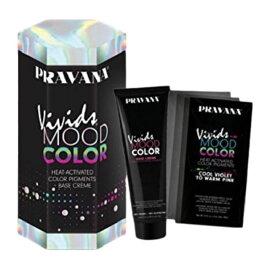 Pravana Vivids Mood Heat Activated Hair Color Kit プラバナ ビビット ムード カラー 色が変わる ヘアクリーム