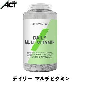 マイプロテイン デイリー マルチビタミン タブレット 【180錠】
