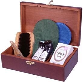 送料無料 靴磨きセット コロンブスTHE BOX 9000