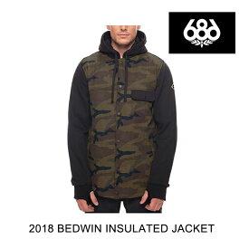 2018 686 シックスエイトシックス ジャケット BEDWIN INSULATED JACKET FATIGUE CAMO PRINT