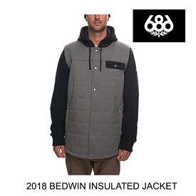2018 686 シックスエイトシックス ジャケット BEDWIN INSULATED JACKET CHARCOAL