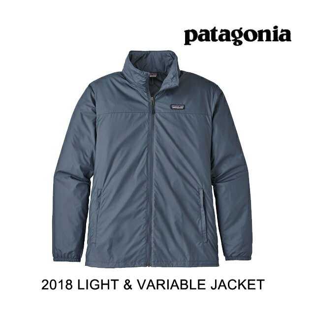 2018 PATAGONIA パタゴニア フーディー LIGHT&VARIABLE JACKET DLMB DOLOMITE BLUE