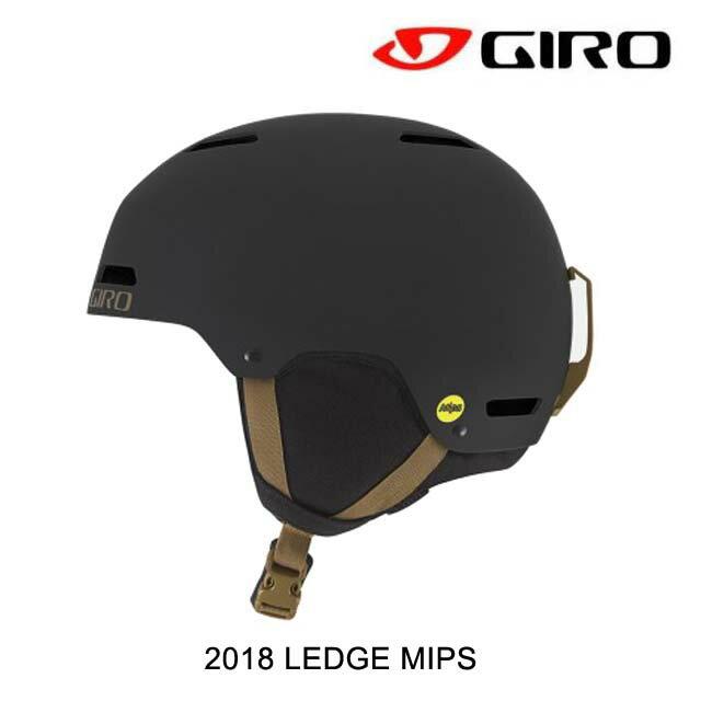 【嬉しい7日間!ポイント最大38倍!1/18 10:00〜1/25 9:59迄】2018 GIRO ジロ ヘルメット HELMET LEDGE MIPS MATTE BLACK/BRONZE