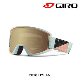 2018 GIRO ジロ ディラン AF レディース ゴーグル WOMEN'S GOGGLE DYLAN AF MIST PISTE OUT/AMBER GOLD+YELLOW アジアン フィット