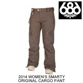 2014 686 シックスエイトシックス パンツ WOMEN'S SMARTY ORIGINAL CARGO PANT CHOCOLATE TEXTURE