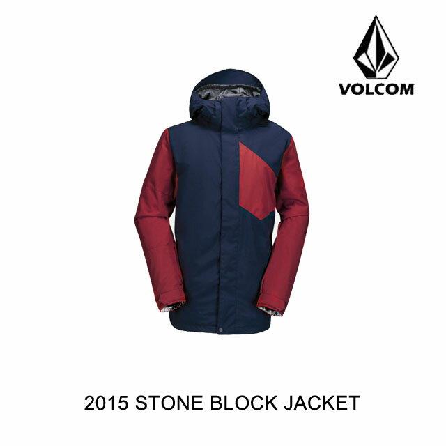 2015 VOLCOM ボルコム ジャケット STONE BLOCK JACKET NVY