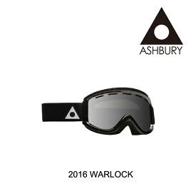 2016 ASHBURY アシュベリー ゴーグル GOGGLE WARLOCK BROWN TORTOISE/SILVER MIRROR+YELLOW