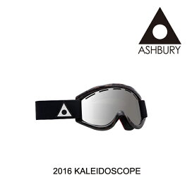 2016 ASHBURY アシュベリー ゴーグル GOGGLE KALEIDOSCOPE BROWN TORTOISE/SILVER MIRROR+YELLOW
