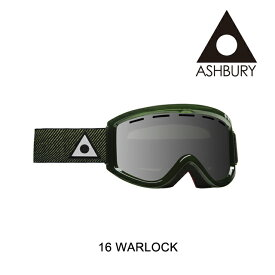 2016 ASHBURY アシュベリー ゴーグル GOGGLE WARLOCK VIDEOGRASS COLLAB/SILVER MIRROR+YELLOW