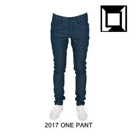 2017 L1 エルワン パンツ WOMEN'S ONE PANT RAW BLUE DENIM