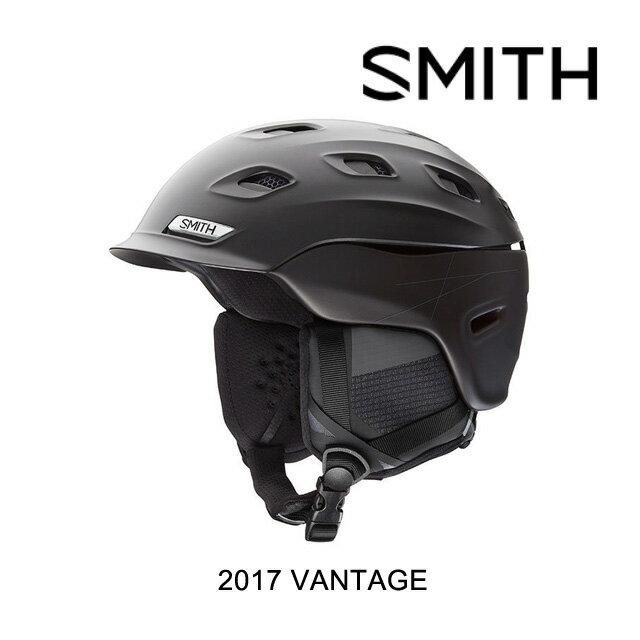 【嬉しい7日間!ポイント最大38倍!1/18 10:00〜1/25 9:59迄】2017 SMITH スミス ヘルメット HELMET VANTAGE MATTE GUNMETAL