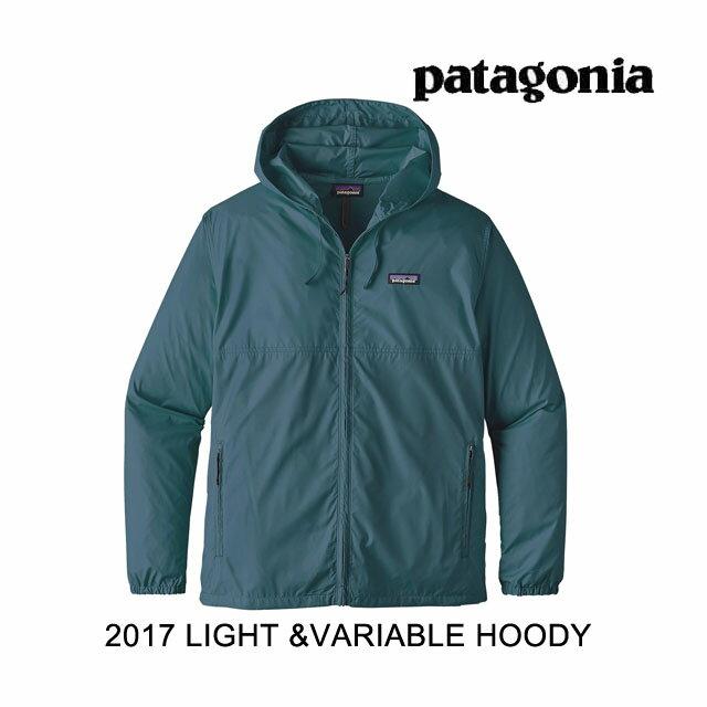 2017 PATAGONIA パタゴニア フーディー LIGHT&VARIABLE HOODY BYBU BAY BLUE
